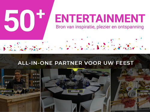 Uw event door 50Plus Entertainment